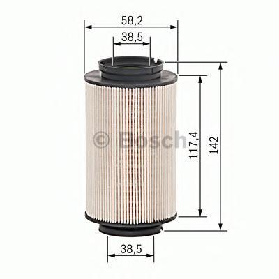 1457070007 BOSCH Топливный фильтр