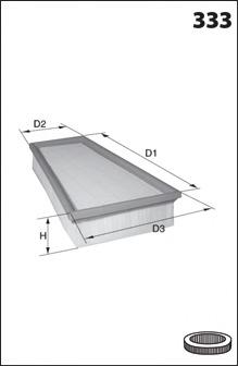 Воздушный фильтр MECAFILTER ELP3918