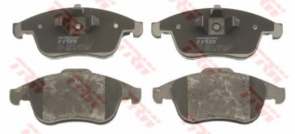 GDB1790 TRW Комплект тормозных колодок, дисковый тормоз
