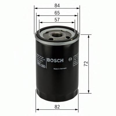 0986452035 BOSCH Масляный фильтр