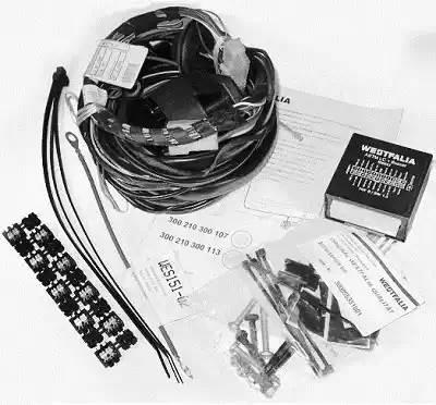 300210300113 WESTFALIA Комплект электрики 13-pin Westfalia универсальный, 300210300113
