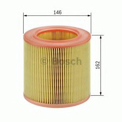 1457433652 BOSCH Воздушный фильтр