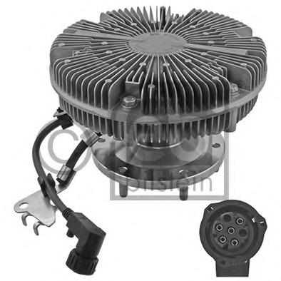 46162 FEBI Сцепление, вентилятор радиатора