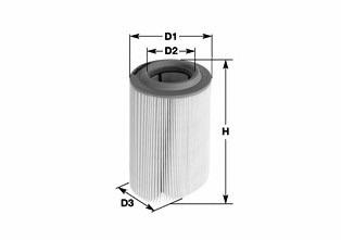 MA3016 CLEAN FILTERS Фильтр воздушный