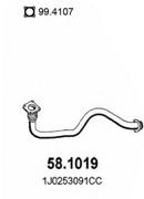 581019 ASSO Пр.тр Seat, Skoda, VW 1.4-16V 97-10