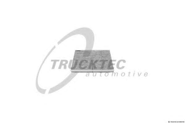 0259080 TRUCKTEC Фильтр, воздух во внутренном пространстве