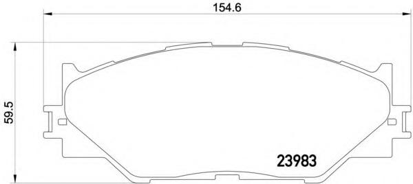 2398301 TEXTAR Колодки тормозные дисковые TEXTAR