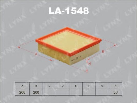 LA1548 LYNX Воздушный фильтр