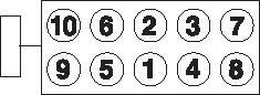 2215003B GOETZE Комплект болтов головки цилидра