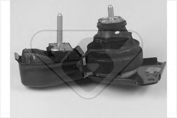 Подвеска, ступенчатая коробка передач HUTCHINSON 586132