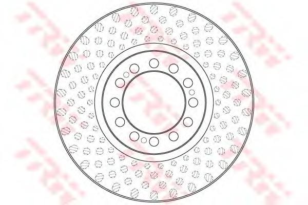 DF5013S TRW/LUCAS Диск тормозной вен 430/131x45/130 12n-168-d19SAF SK RB 9022