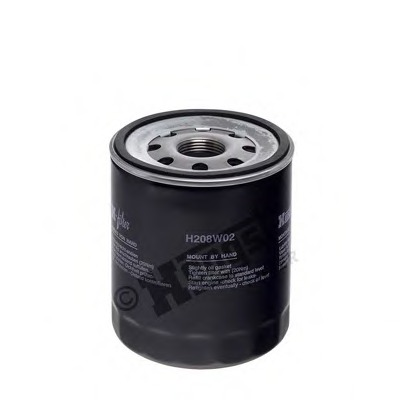 H208W02 HENGST FILTER Фильтр масляный