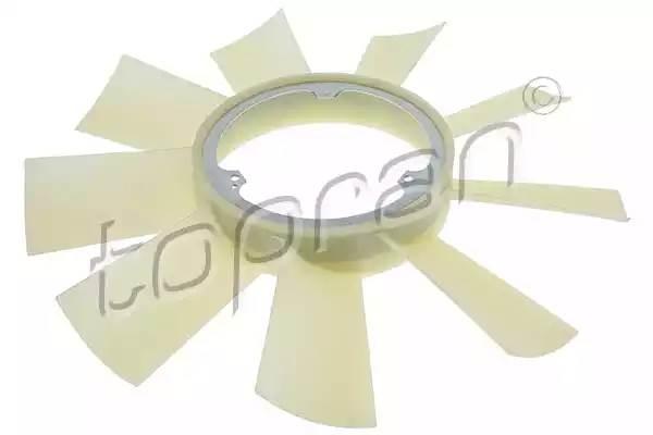115584 TOPRAN Крыльчатка вентилятора, охлаждение двигателя