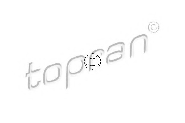 111475 TOPRAN Ремкомплект, рычаг переключения