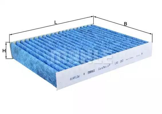 LAO293 MAHLE/KNECHT Фильтр, воздух во внутренном пространстве