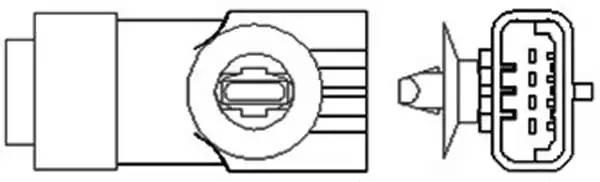 466016355006 MAGNETI MARELLI Лямбда-зонд