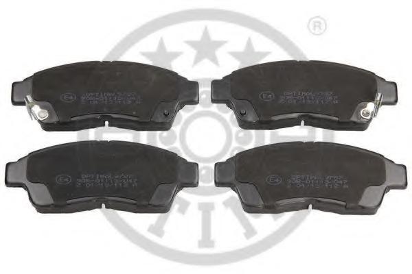 9787 OPTIMAL Колодки тормозные дисковые передние, комплект