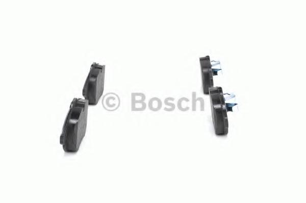 Комплект тормозных колодок, дисковый тормоз BOSCH 0986494044