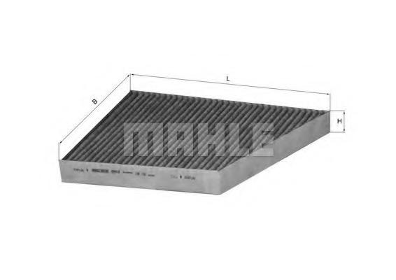 LAK156 MAHLE Фильтр, воздух во внутренном пространстве